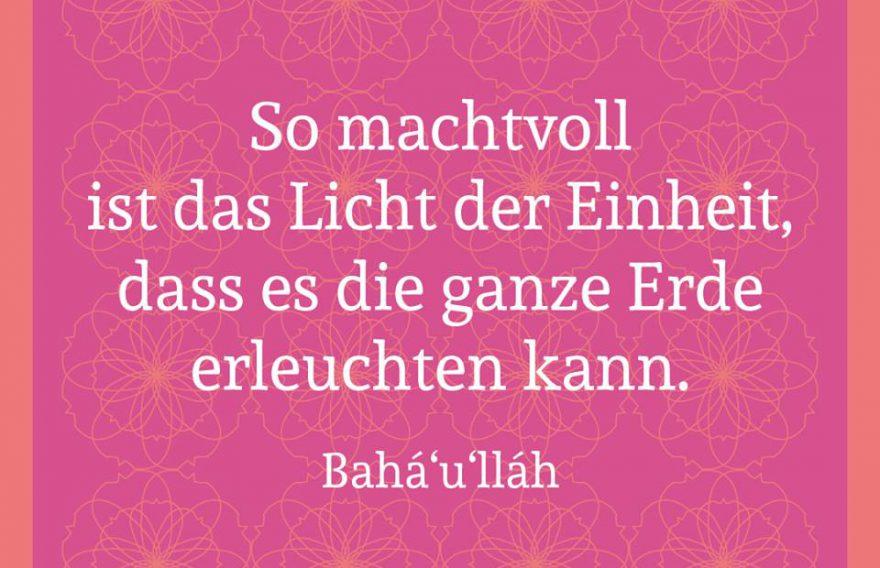 Über Bahá'í-Religion
