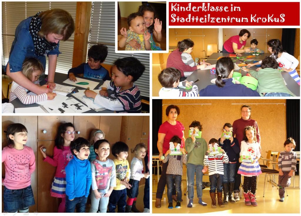 Kinderklasse Kollage